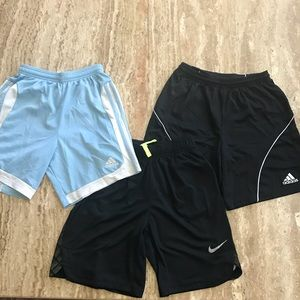 💰4 for $15💰Lot of Youth Shorts (Nike & Adidas)